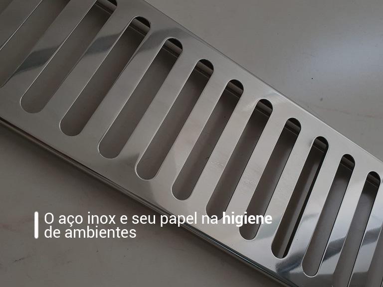 O aço inox e seu papel na higiene de ambientes