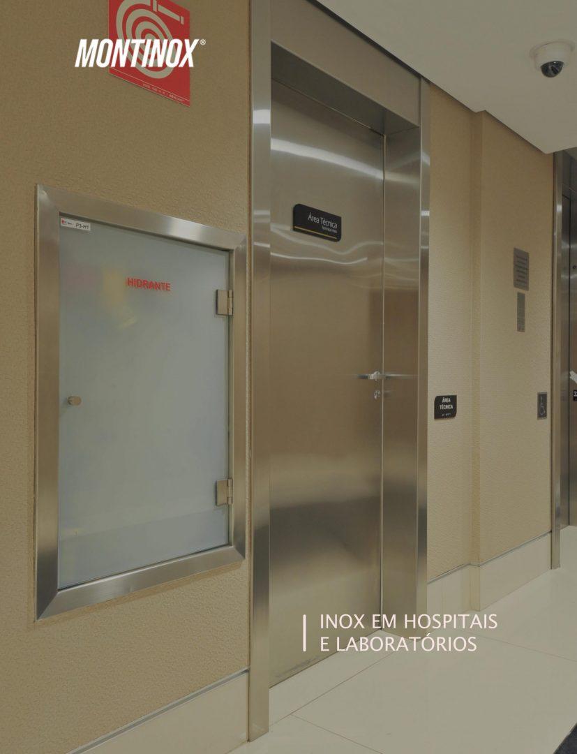 Inox em hospitais e laboratórios